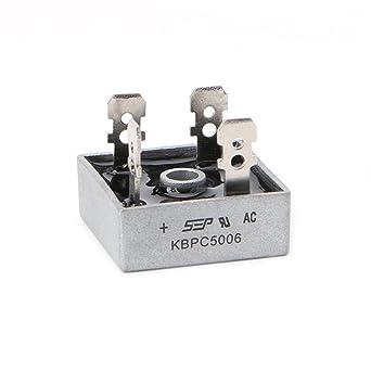 Details about  /KBPC5006 Power Bridge Rectifier 50A 600V Metal Case Diode Bridge Control