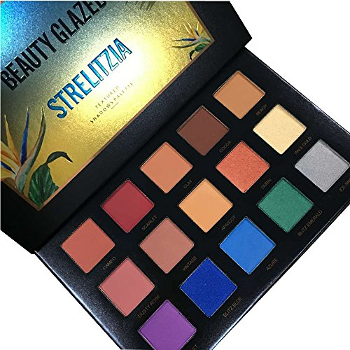 15 Colors STRELITZIA BEAUTY GLAZED Matte Shimmer Highlight E
