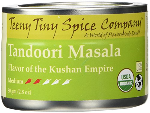 - Teeny Tiny Spice Co. of Vermont Organic Tandoori Masala, 2.8 Oz
