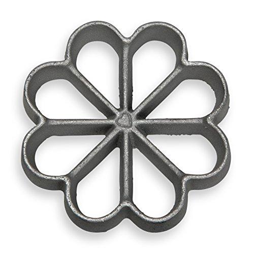 Small Rosette - Honey-Can-Do 7001 Small Rosette Iron