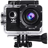 Domybest Outdoor 4K HD WiFi Sport Camera Waterproof Camcorder with Remote Control