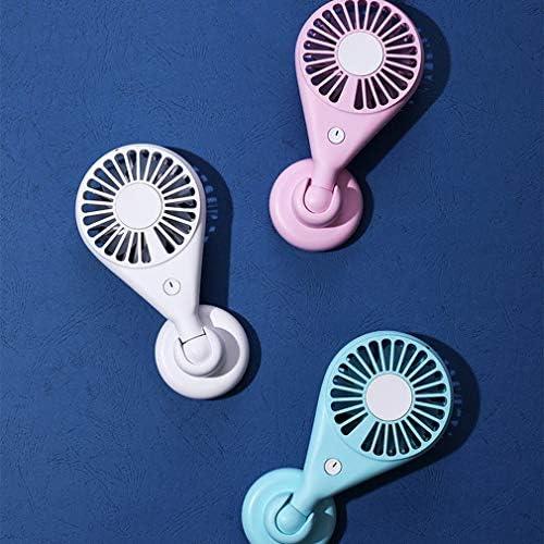 Personalità creativa Esterna Portatile Colorato Luce notturna Mini Ventilatore Ventilatore USB Ventilatore Studente Estate Ventilatore portatile piccolo Bianco Cina con USB