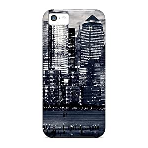 Zheng caseQuality Cynthaskey Case Cover With City8 Nice Appearance Compatible With Iphone 5c