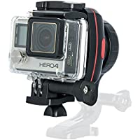 Wewow X1 Action Sport Wearable Handheld Gimbal Stabilizer for GoPro Hero5, Hero4 or Sports Cameras Similar Size, iPhone, Samsung and More
