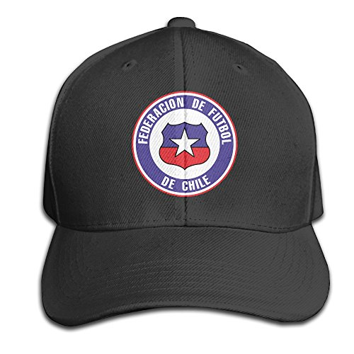 maneg-chile-football-team-adjustable-hunting-peak-hat-cap