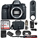 Canon EOS 6D Mark II DSLR Camera (Body Only) with Gadget Bag and 128GB Bundle