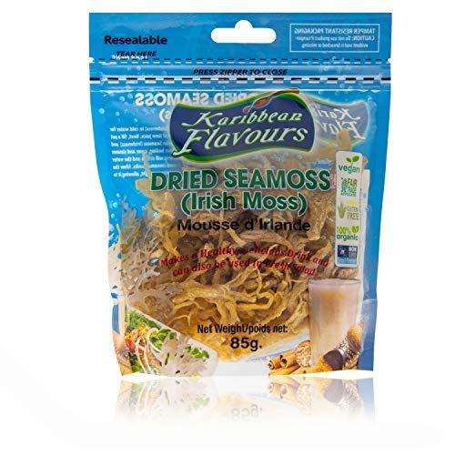 Premium Irish Moss superfood - (5 pack) 15 Oz. - wildcrafted - non gmo - vegan - raw