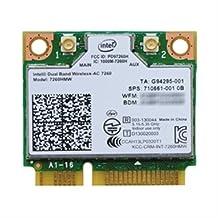 Intel Dual Band Wireless-ac 7260 - Network Adapter - Pci Express Half Mini Card - 802.11b, 802.11a,