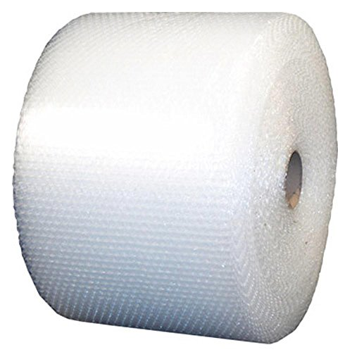 Medium Bubble Roll - 30' x 12'' Clear Wide Long Roll by Uboxes