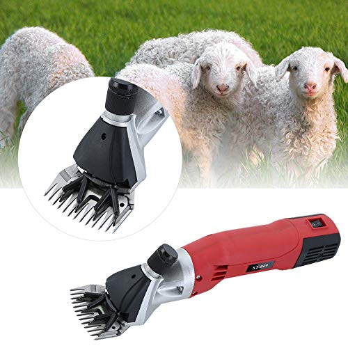 110V 500W Farm Electric Sheep Shearing Clipper Shear Goat Wool Cutting Machine