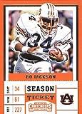 #9: 2017 Panini Contenders Draft Picks Season Ticket #13 Bo Jackson Auburn Tigers Football Card