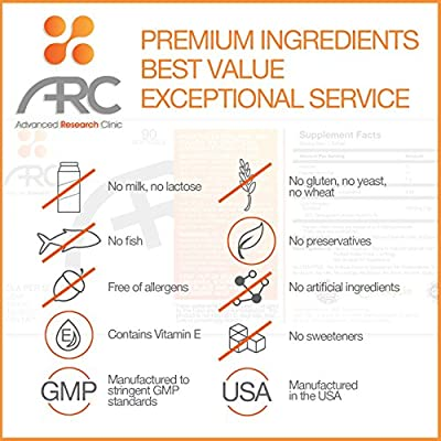 #1 PREMIUM CLA SUPPLEMENT - Best Safflower Conjugated Linoleic Acid (Plant Derived) - Burn Belly Fat - Lose Weight - Suppress Appetite - Build Lean Muscle - Boost Metabolism - Enhances Diet - Lower Cholesterol - High Potency 80% CLA, 1000mg, 90 Softgels -