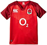Canterbury Kid's England Alternate Pro Rugby Short Sleeve Jersey - Red, 10 years