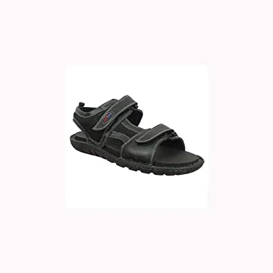ShearWater Rockland Diabetic Leather Sandal For Men
