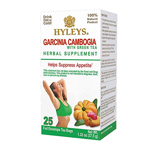 Amazon Com 12 Pack Hyleys Wellness Garcinia Cambogia Green Tea