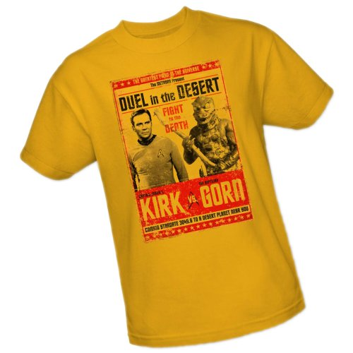 Kirk vs Gorn – Duel In The Desert – Star Trek T-Shirt