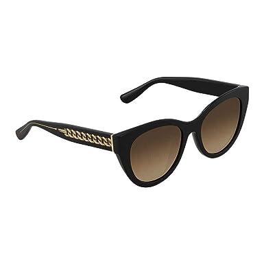 Jimmy Choo Chana S HA 807 52, Montures de Lunettes Femme, Noir (Black BW  Brown)  Amazon.fr  Vêtements et accessoires 36f92a349886