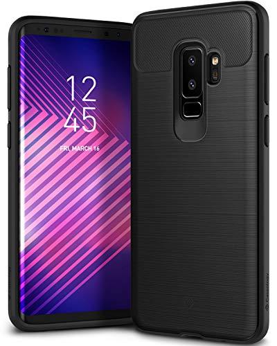 Caseology [Vault Series] Galaxy S9 Plus Case - [Rugged Matte Finish] - Black