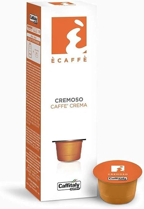 Imagen deEcaffe - Cápsula Ecaffe Caffitaly Cremoso Dualit, Gaggia, Tchibo Cafissimo, 80 Cápsulas