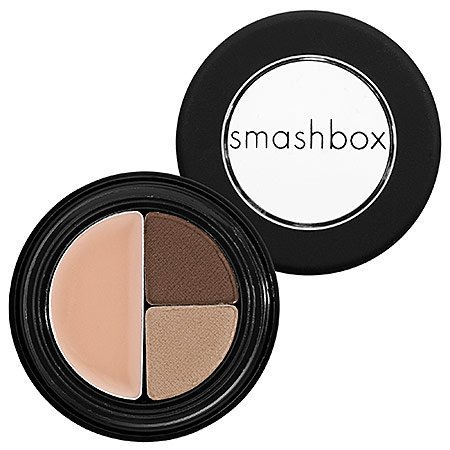 Brow Trio (Smashbox Brow Tech Eye Makeup, Brunette, .025 Ounce)