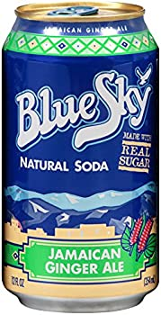 24-Pack Blue Sky Natural Soda