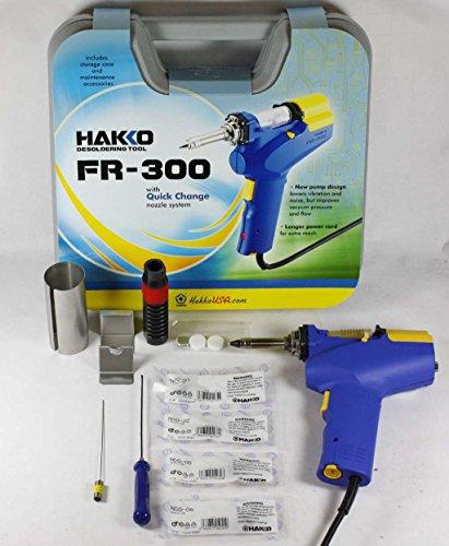 Hakko FR-300-Kit4 Desoldering and Rework Stations with N50-01/N50-02/N50-05/N50-06 Nozzles