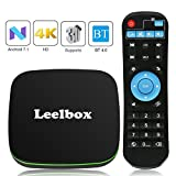 Android TV Box, Leelbox Q1 Android 7.1 TV Box BT 4.0 Supporting 4K