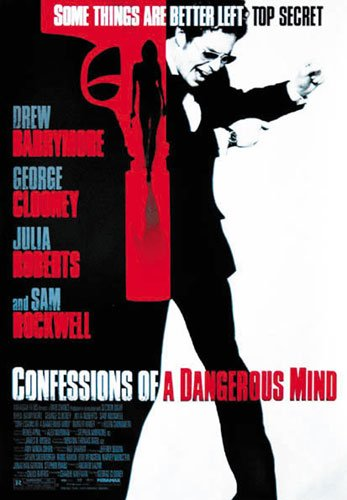 Confessions Of A Dangerous Mind - Movie Poster (Size: 27'' x 40'') (Poster & Poster Strip Set)