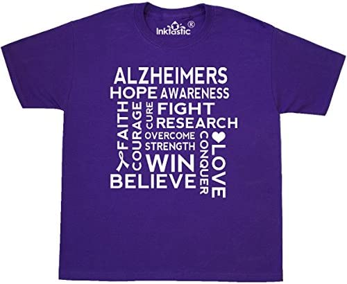 inktastic I Wear Purple for My Great Uncle Alzheimers Awareness Baby T-Shirt