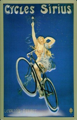 Blechschild Sport Fahrrad