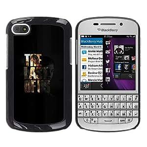 LECELL--Funda protectora / Cubierta / Piel For BlackBerry Q10 -- Última nosotros --