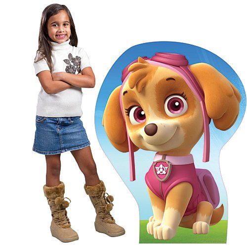 2 ft. 2 in. Paw Patrol Skye Cardboard Cut Out Standup Photo Booth Prop Background Backdrop Party Decoration Decor Scene Setter Cardboard Cutout