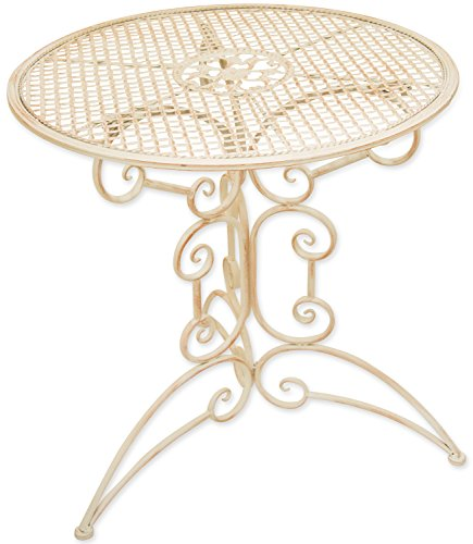 Woodside Small Round Outdoor Metal Coffee Table Garden Furniture New