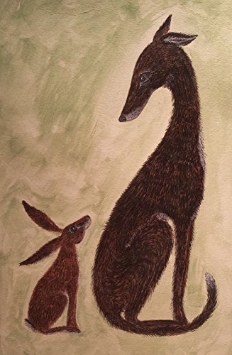 Epson Archival Poster Board - Tentative Greetings - Hare and Hound Art Print