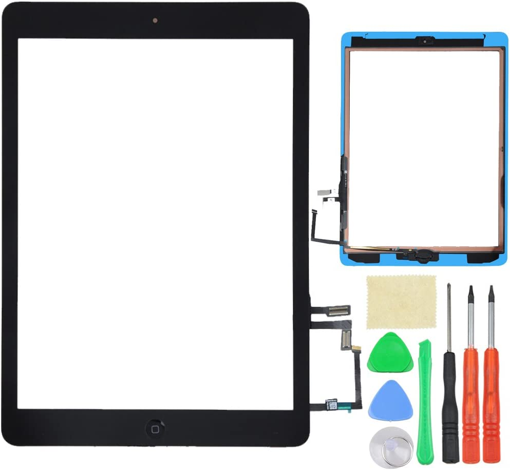 New Black Outer Glass Touch Screen Digitizer For iPad Air 5th Generation Gen