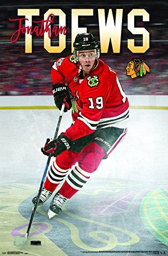 (Trends International Chicago Blackhawks - Jonathan Toews Wall Poster, 22.375
