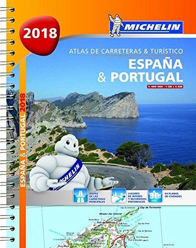 España & Portugal (formato A-4) (Atlas de carreteras y turístico ) (Atlas de carreteras Michelin) Mapa – 1 ene 2018 2067227815 Southern Europe Road atlases & maps