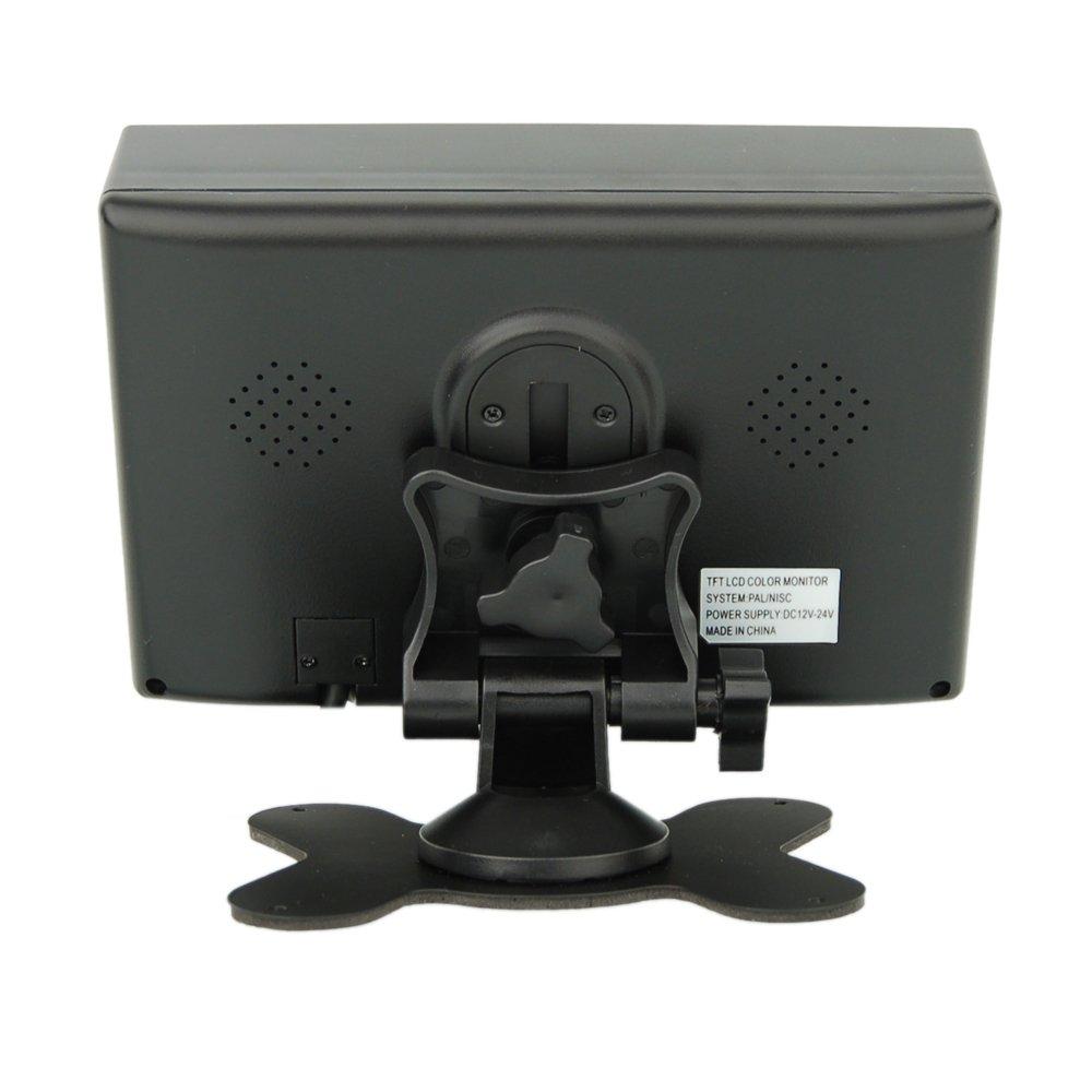 Premium 7 Zoll Farb-Rückfahrsystem mit 7 Zoll Farb-Monitor + ...