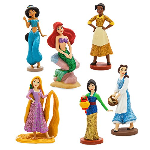 Disney Princess Figure Play Set - ''Once Upon a Time'' Playset of 6 -