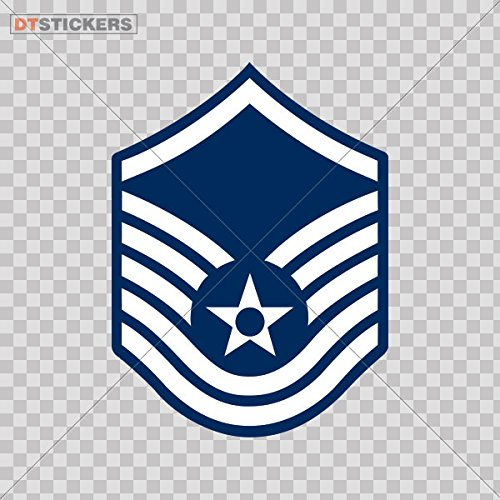 Vinyl Stickers Decal Military Sergeant For Helmet waterproof (3 X 2,21 In. ) Fully Waterproof Printed vinyl sticker
