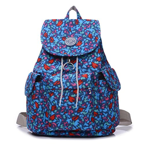 Blue Camouflage Diaper Bag - 3