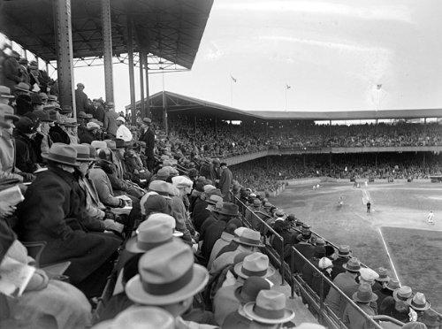 1925 WORLD SERIES GRANDSTAND 11x14 - Grandstand Series