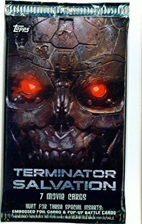 Terminator Salvation Movie Trading Card Pack by Topps: Amazon.es ...