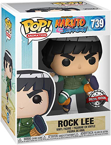 POP Funko Naruto Shippuden 739- Rock Lee Special Edition