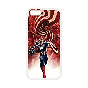 "Unique Design -ZE-MIN PHONE CASE For Apple Iphone 6,4.7"" screen Cases -Caption American Pattern 6"