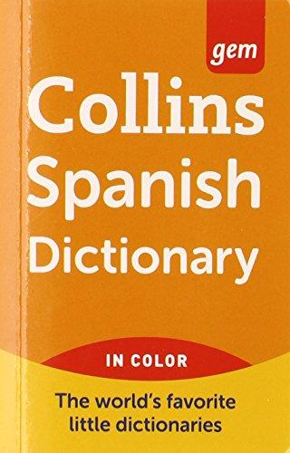 Collins Gem Spanish Dictionary, 9th Edition [Idioma Inglés] por Harpercollins Publishers Ltd