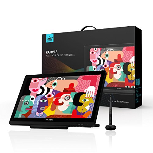 Huion KAMVAS GT-191 V2 HD Drawing Monitor Inch 19 5 Pen Display  Battery-Free Stylus with 8192 Levels Pen Pressure
