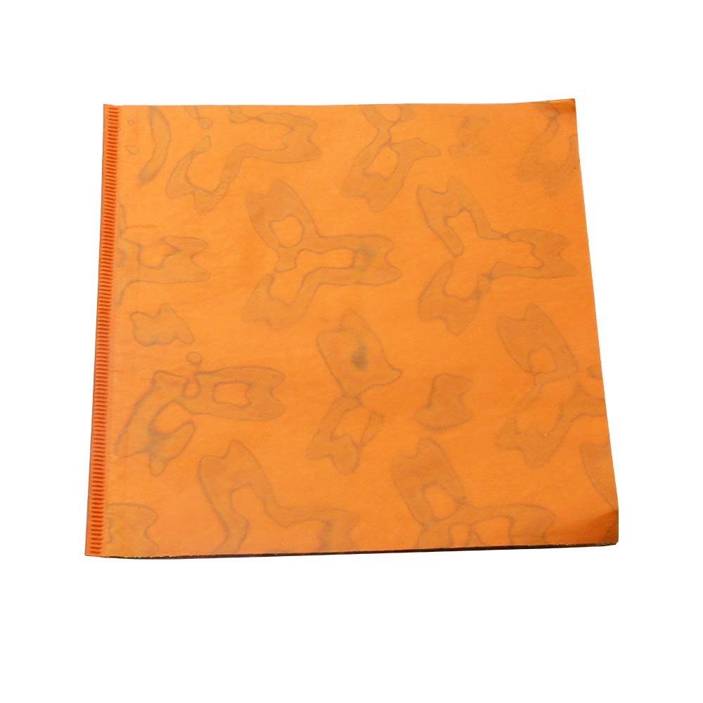 Variegated Gold Leaf Sheets Type 4 5.51 by 5.51 Inches 25 Sheets Per Booklet KINNO Multiple Types of Metal Leaf Papers with Patterns for Art /& Crafts Decorations
