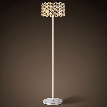 MoMo Stehlampe im europäischen Stil Kristall Stehlampe Modern ...