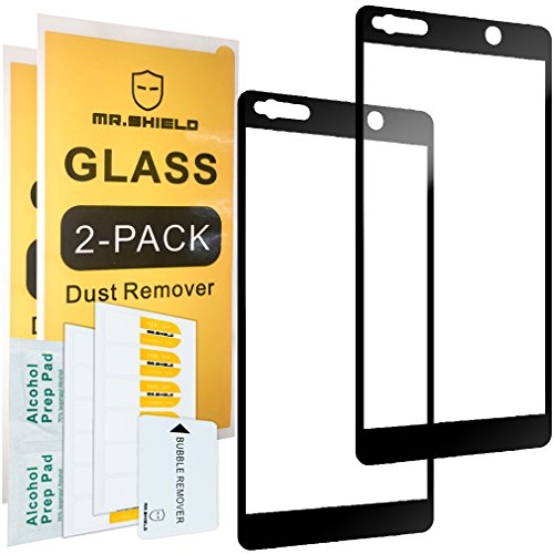 delicate [2-PACK]-Mr Shield For Alcatel Idol 5 [Tempered